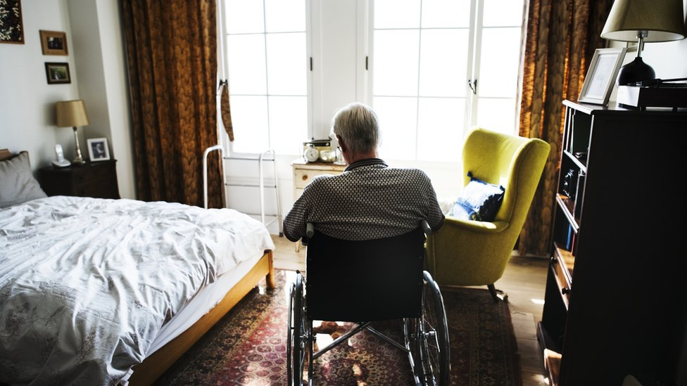 man in care home generic