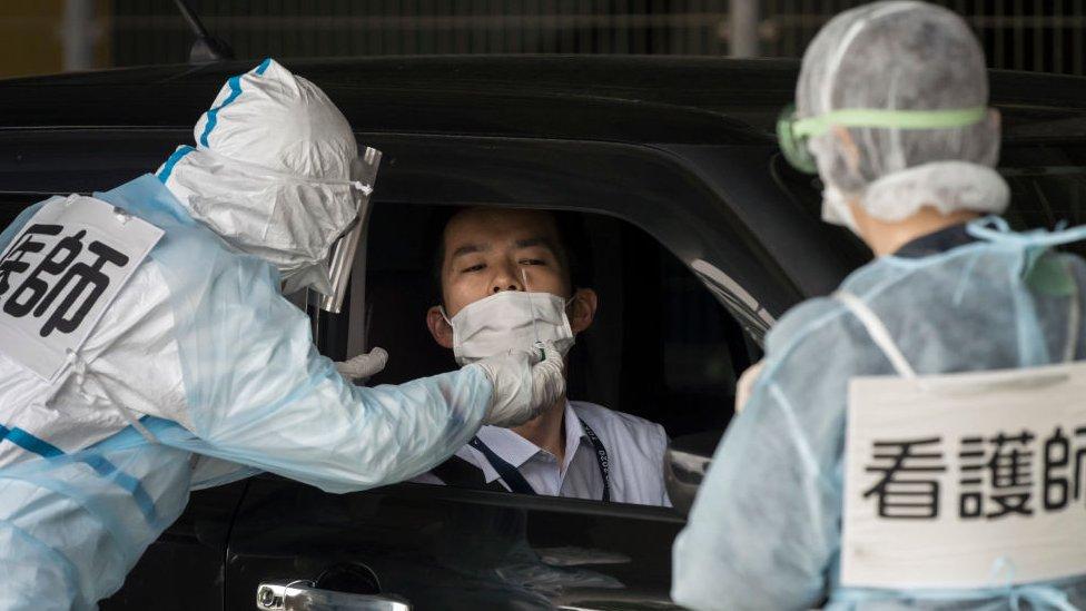 Japan je imao relativno nisku stopu testiranja u poređenju sa zemljama kao što je Južna Koreja