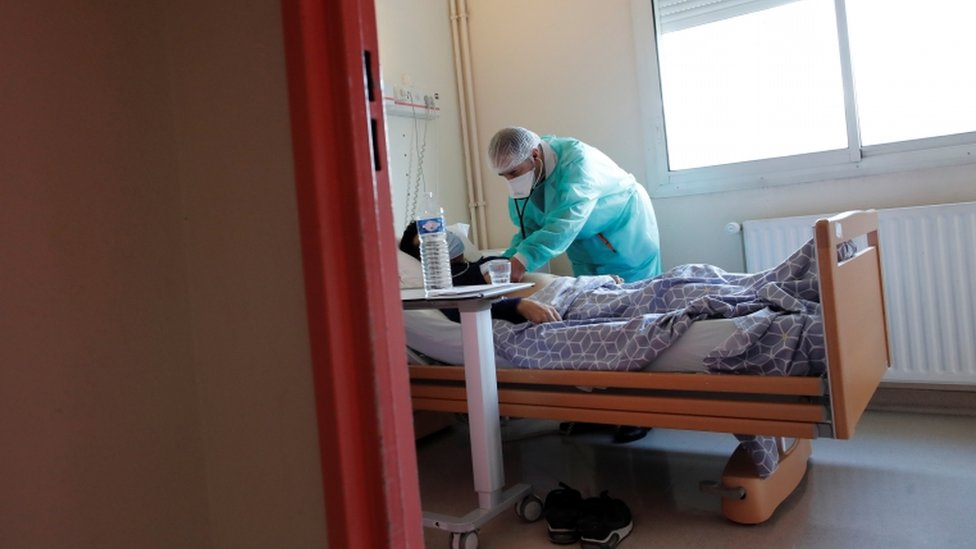 There are worries that the French hospital system could soon be overwhelmed