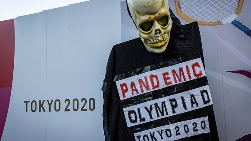 Plakat protiv Olimpiadы